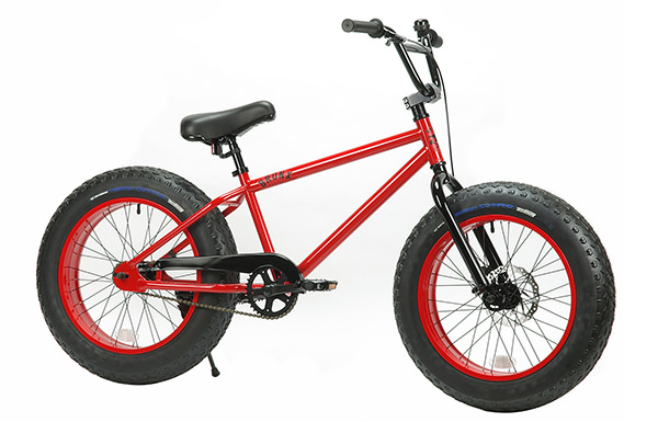 BRONX FATBIKE 20inch GLOSS RED x RED