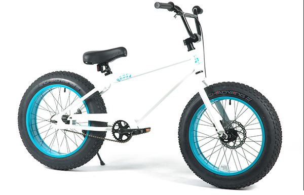 BRONX FATBIKE 20inch WHITE x TURQUOISE
