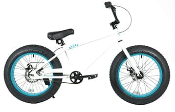 BRONX FATBIKE 20inch SD White x Turquoise